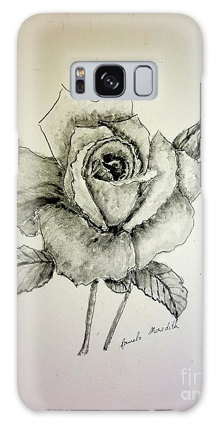 Rose In Monotone Galaxy Case