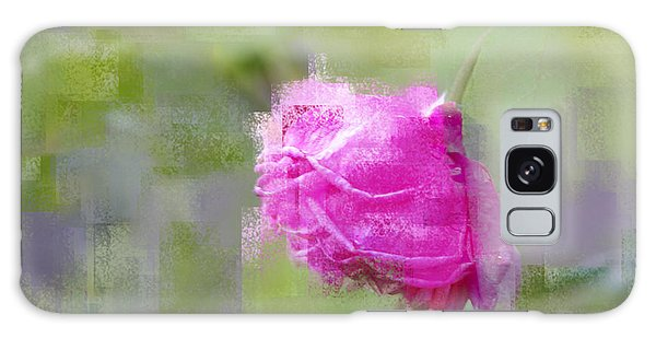 Rose In Pink Galaxy Case by Linde Townsend