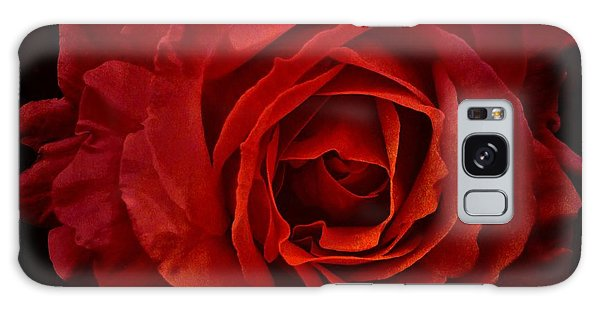 Rose In Red Galaxy Case