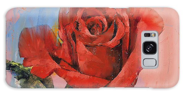 Rose Galaxy Case - Rose Painting by Michael Creese