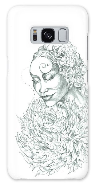 Rose Of Grace And Kindness Galaxy Case
