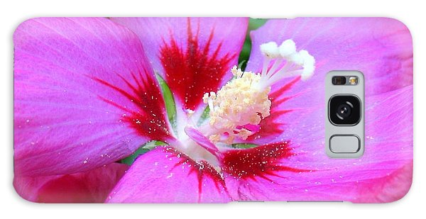 Rose Of Sharon Hibiscus Galaxy Case by Patti Whitten