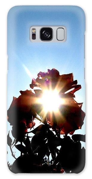 Rose Of The Sun Galaxy Case