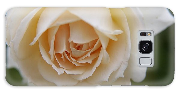 Rose... Pure And Simple  Galaxy Case by Lynn England