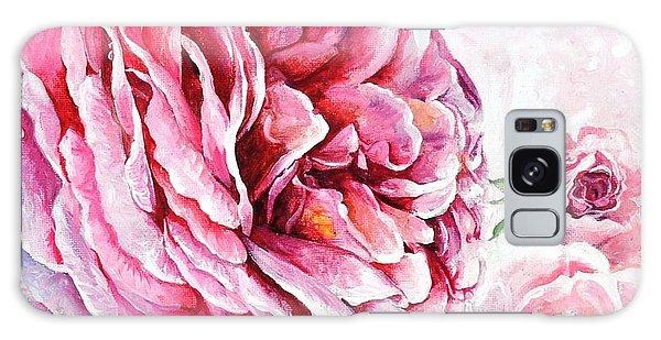 Rose Reflection 2 Galaxy Case by Sandra Phryce-Jones