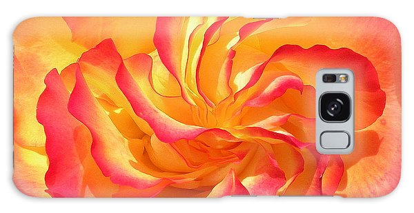 Rose Swirl Galaxy Case