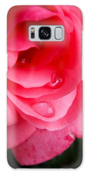 Rose Teardrop Galaxy Case