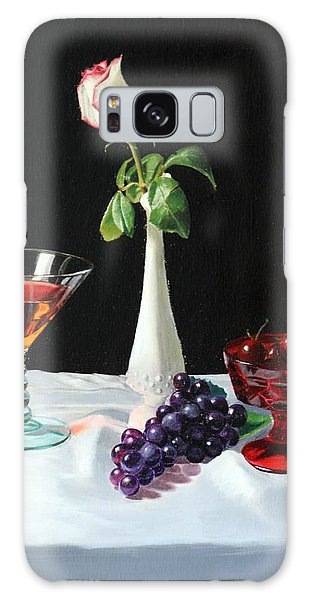 Rose Wine And Fruit Galaxy Case