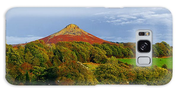 Roseberry Topping Yorkshire Moors Galaxy Case
