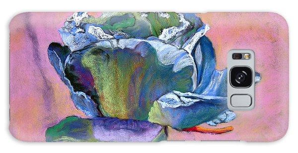 Rosefloria In Blue Galaxy Case