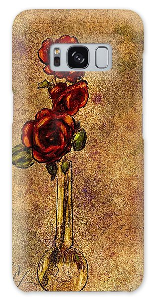 Roses After Cezanne Galaxy Case