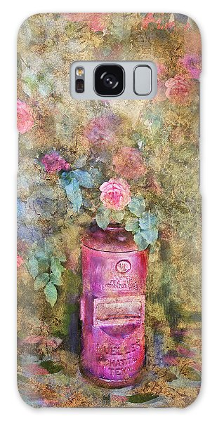 Roses And Fire Hydrant Galaxy Case