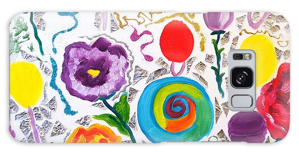 Roses And Lollipops For Mom Galaxy Case