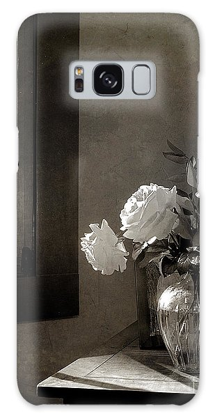 Roses At The Attic Window Galaxy Case