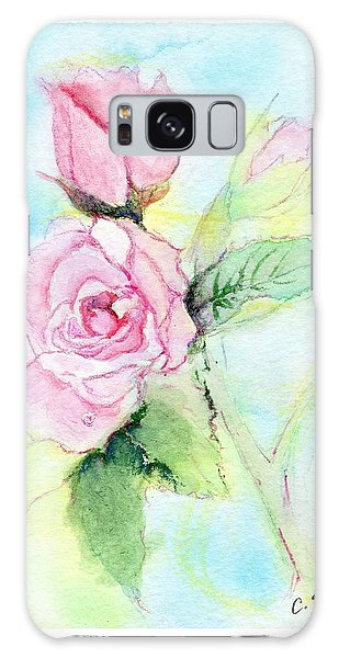 Roses Galaxy Case by C Sitton