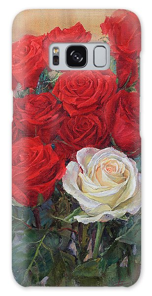 Roses For You Galaxy Case