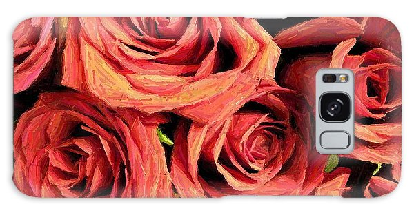 Roses For Your Wall  Galaxy Case by Joseph Baril