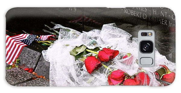 Roses In The Rain Galaxy Case