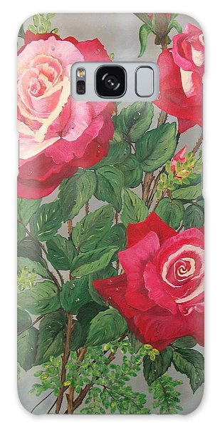 Roses N' Rain Galaxy Case