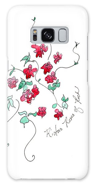 Roses Of Ruch  Galaxy Case