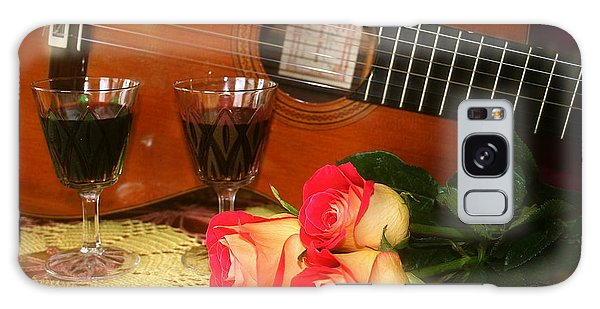 Guitar 'n Roses Galaxy Case by The Art of Alice Terrill