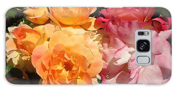 Roses Roses Roses Galaxy Case by Mark Barclay