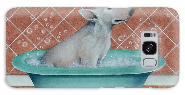 Rosie In The Bliss Bubbles Galaxy Case by Cynthia House