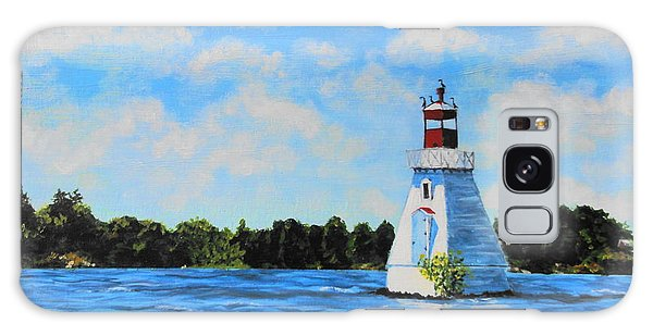 Rosseau Lighthouse Galaxy Case