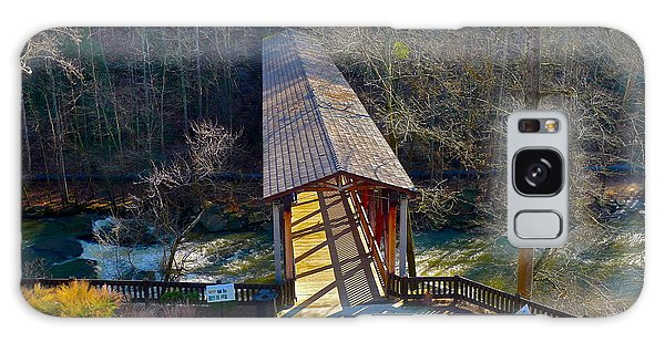 Roswell Covered Bridge Galaxy Case