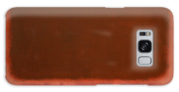 Rothko's Mulberry And Brown Galaxy Case