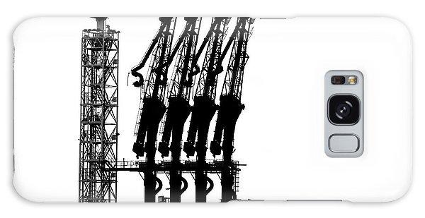 Dock Galaxy S8 Case - Rotterdam-harbour by Jan Niezen