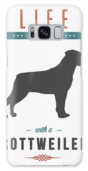 Quote Galaxy Case - Rottweiler 01 by Aged Pixel