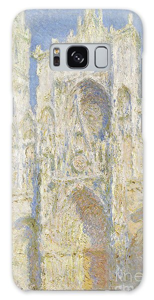 Rouen Cathedral West Facade Galaxy Case by Claude Monet