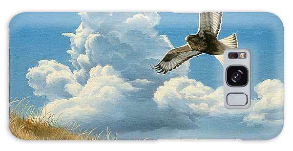 Hawk Galaxy Case - Rough-legged Hawk by Paul Krapf