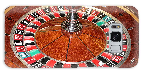 Roulette Wheel And Chips Galaxy Case