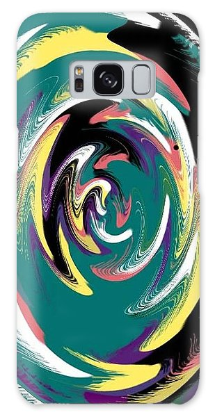 Round And A Round Galaxy Case