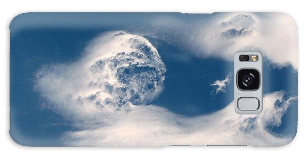 Round Clouds Galaxy Case