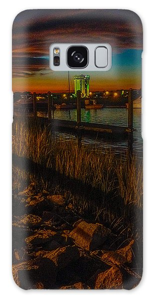 Charleston Sunset Galaxy Case