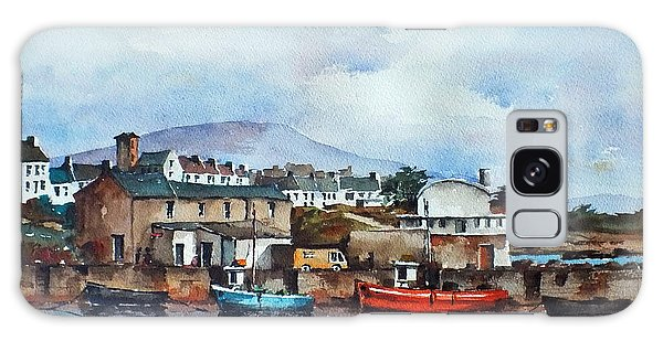 Roundstone Old Harbour Galway Galaxy Case