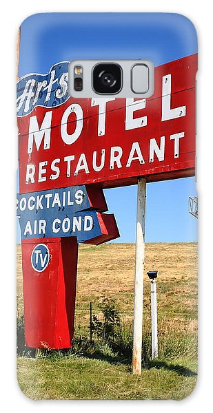 Galaxy Case - Route 66 - Art's Motel by Frank Romeo