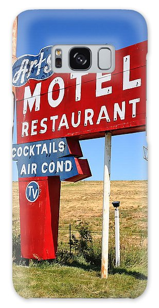 Southwest Usa Galaxy Case - Route 66 - Art's Motel by Frank Romeo