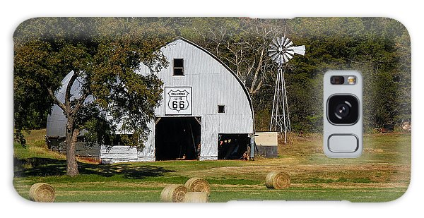 Route 66 Barn Galaxy Case by Doug Long