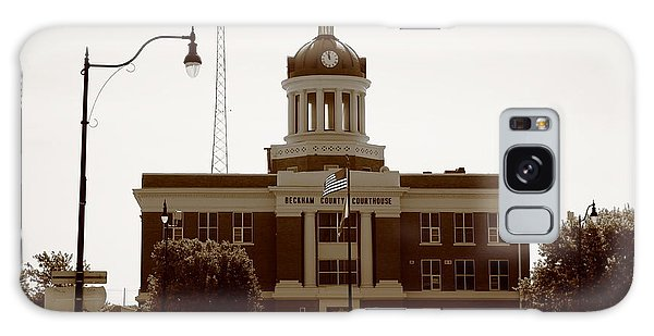 Route 66 - Beckham County Courthouse Galaxy Case