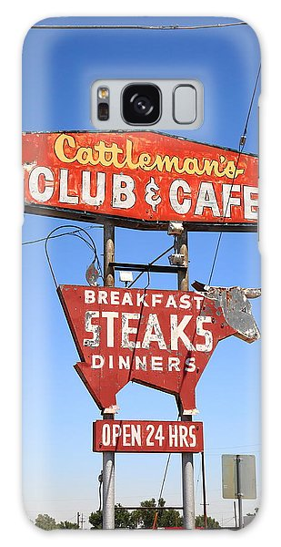 Route 66 - Cattleman's Club And Cafe Galaxy Case