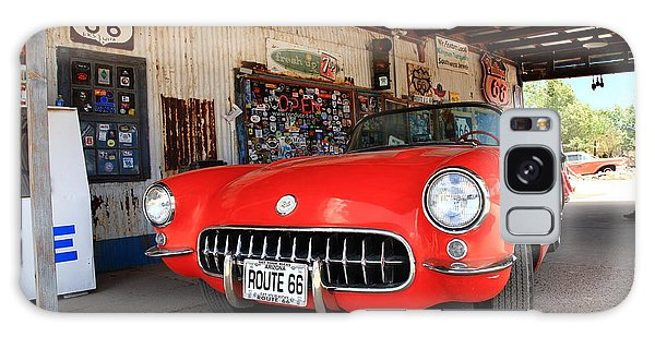 Route 66 Corvette Galaxy Case