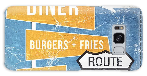 Restaurants Galaxy Case - Route 66 Diner by Linda Woods