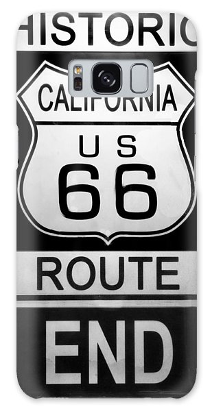 Route 66 End Galaxy Case