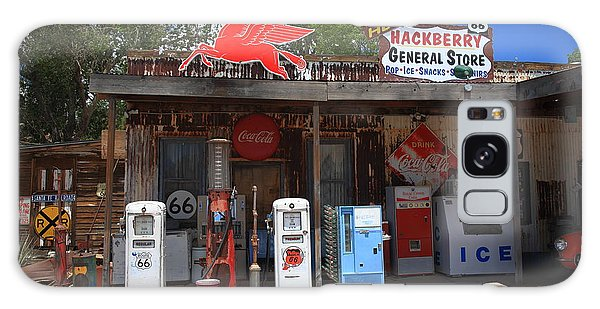 Route 66 - Hackberry General Store Galaxy Case