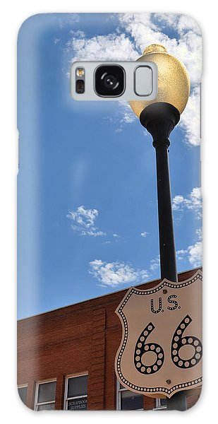 Route 66 Light Post Vivid Galaxy Case