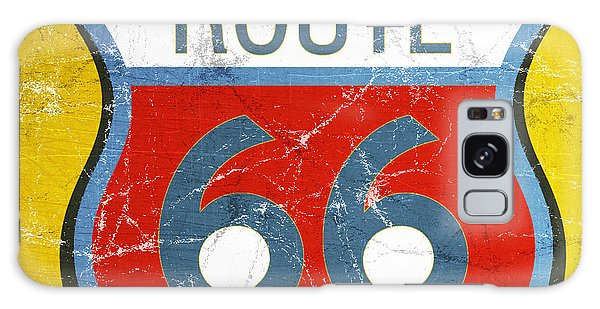 66 Galaxy Case - Route 66 by Linda Woods